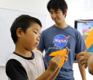 モデルロケット教室