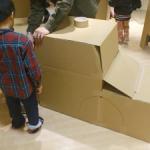 不要なダンボールを活用しよう!子供と楽しむ手作りアトラクション